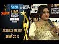 Actress Meena At SIIMA 2017 - Telugu Red Carpet
