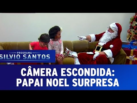 Câmera Escondida Papai Noel Surpresa