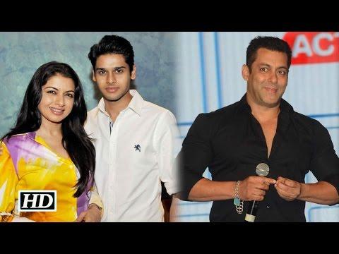 Salman not launching my son in Bollywood: Bhagyashree