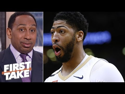 Stephen A. 'scared' Anthony Davis is Lakers' only option First Take