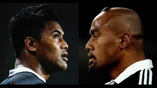 Jonah Lomu and Julian Savea VS England