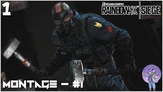 Rainbow Six Siege Montage - #1 || Stream Highlights || Samiatrix