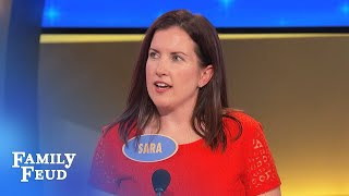 Stripper by night and WHAT by day??? | Family Feud