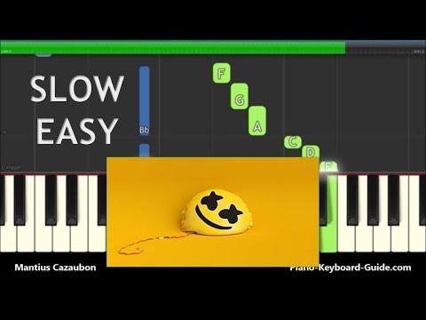 Xxx Mp4 Marshmello Ft Bastille I Want You To Be Happier Slow Easy Piano Tutorial 3gp Sex