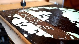 Making a Wooden Engraved Clock