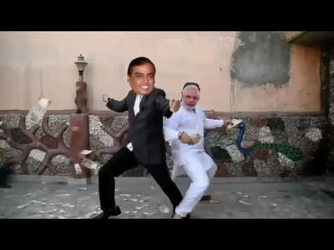 Modi funny dance