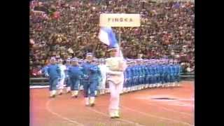 Opening Ceremony of the 14th Winter Olympic Games - ABC-TV