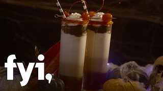 Sweet Treats: Halloween Witch's Stocking Cocktail Recipe | FYI