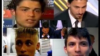 Comedy football : Speak bad language | Ronaldo, Ibrahimovich, Neymar, Aguero