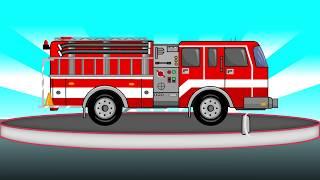 🚒 Fire Truck - Formation and uses | Video For Kids | Straż Pożarna - Tworzenie i zastosowanie 🚒