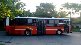 Caravana interminable de los borrachos del tablon rumbo al Minella
