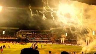 SRH Winning Moment celebrations VivoIPL 2016