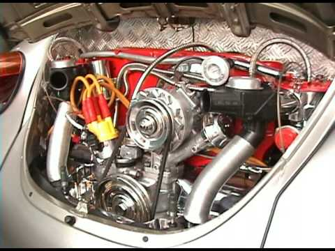 VW Fusca Motor Cromado.