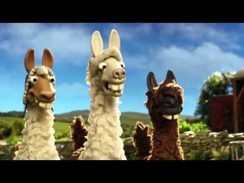 The llamas join Shaun the sheep on the farm The Farmer s Llamas Preview BBC One Christmas 2015