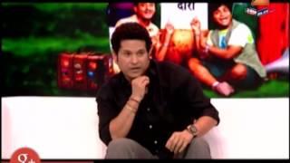 Sachin Tendulkar On Chala Hawa Yeu Dya Set