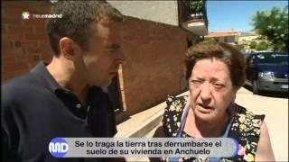 Un hombre cae por un agujero en su vivienda de Anchuelo tras un derrumbe