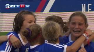 FRANCE GIRLS VS USA GIRLS - RANKING MATCH 3/4 - FULL MATCH - DANONE NATIONS CUP 2017