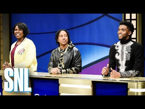 Xxx Mp4 Black Jeopardy With Chadwick Boseman SNL 3gp Sex