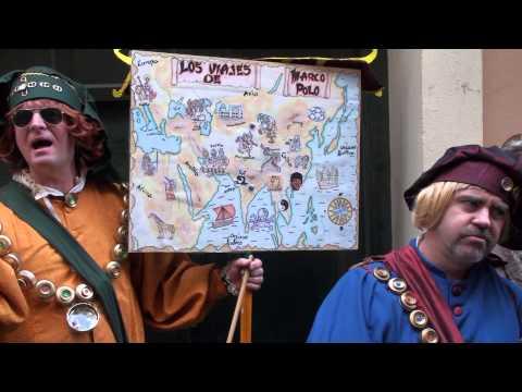 Romancero Los viajes de Marco Polo. Carnaval de Cádiz 2014
