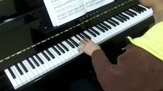 Bastien Piano Basics Level 4 Piano No.23 Augmented Triads Group 2 Keys (D, A, E) (P.28)