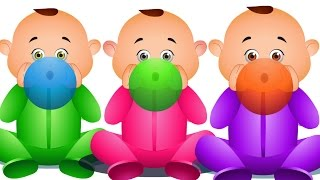 Five Little Babies Blowing Balloons & Many More - Nursery Rhymes Collection - Jam Jammies Kids Songs