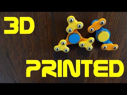 Double & Triple fidget spinner - 3D Printed