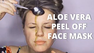 Aloe Vera Peel Off Mask: How It Helps You To Get Clearer Skin!