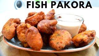 How To Make Fish Pakora Recipe   Indian Cooking Recipes   #CookwithAnisa #recipeoftheday