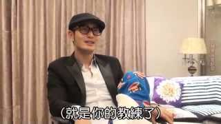 Huang Xiaoming 黄晓明 returning to filming White Haired Witch after injury