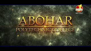 Canteeni Mandeer || Abohar Polytechnic College, Abohar, Punjab || Promo || MH ONE Music