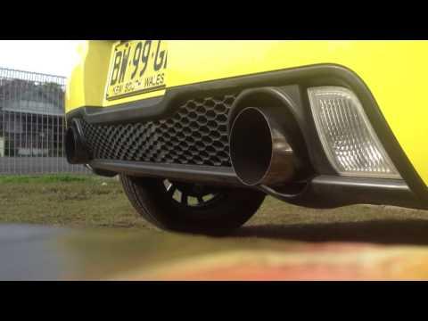 Suzuki swift sport custom exhaust & intake