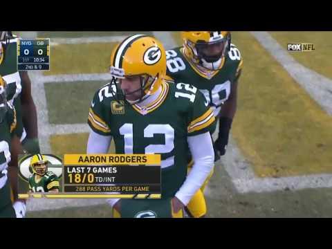Aaron Rodgers vs Giants NFL Wildcard 2016 362 Yards 4 TDs NFL Highlights HD