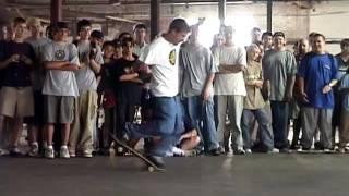 Rodney Mullen Putting on a 1-Man Flatground Demo
