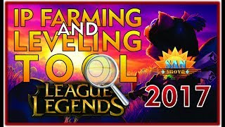 Leveling and IP Farming Bot for FREE ! + Leaverbuster Removal Tool  | League of Legends | 2017