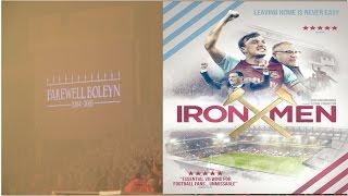 IRON MEN Official Trailer (2017)  West Ham Utd Documentary film