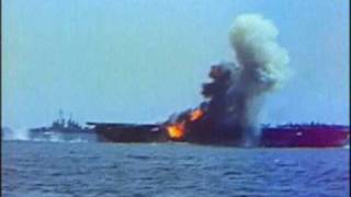 Japanese Kamikaze attack on the USS Essex