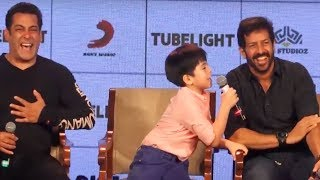 Tubelight's little boy Martin Rey Tangu REALLY REALLY FUNNY Interview