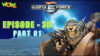 Motu Patlu presents Hot Wheels Battle Force 5 - Lord of the Kharamanos- S2 E36.P1 - in Hindi
