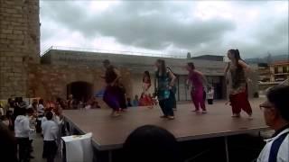 Dancing Ganesh en Holi Montblanc 2015