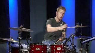 32nd Note Half Beat Drum Fills - Drum Lesson (DRUMEO)
