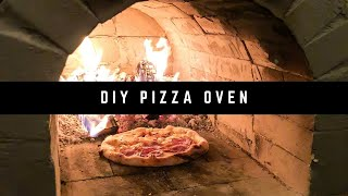 HOW TO BUILD A WOOD FIRED BRICK PIZZA OVEN PART 1