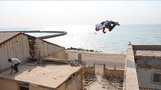 نطيت من مكان مرتفع بالكويت | مطاردة محترف دراجه ضد لاعب باركور !! فلوق#48