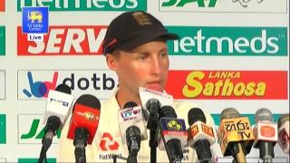 2nd Test : Day 5 Post Match Media Conference - England tour of Sri Lanka 2018