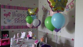 DIY Birthday Party Décor Ideas for Girls