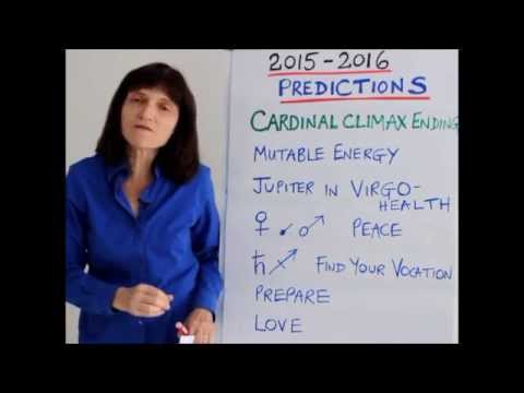 Astrology Predictions 2015 2016 by Barbara Goldsmith