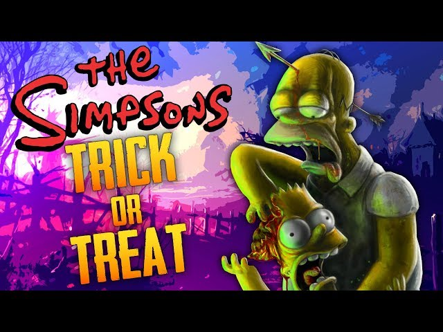 The Simpsons: Zombie Trick Or Treat (Call of Duty Zombies)