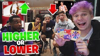 EXTREME HIGHER OR LOWER CHALLENGE NBA 2K19