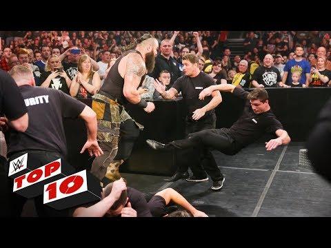 Xxx Mp4 Top 10 Raw Moments WWE Top 10 November 5 2018 3gp Sex