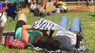 Scenes from around Total Eclipse of the Park in Blythewood, SC