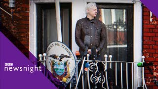 Is time up for Julian Assange?  - BBC News